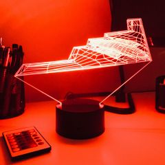 B-2 Bomber 3D Aircraft Color Changing Lamps