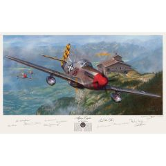 """Alpine Eagles"" Limited Edition 11-Signature Print (unframed)"