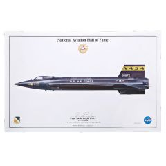 Joe Engle North American X-15 Signed Aircraft Print