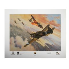 """Limited Edition """"Scotty's Last Combat"""" Print Signed by Col. Robert L. Scott"""