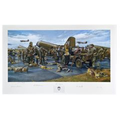 """The Veterans"" Signed Print (unframed)"
