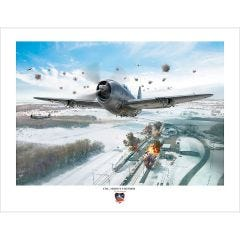 Limited Edition Col. Moon's Thunder Artist Signed Print