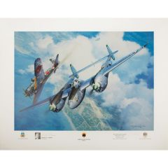 Limited Edition High Noon Over Alicante Print Signed by JT Robbins
