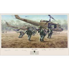 """Sky Soldiers"" Limited Edition 5-Signature Print (unframed)"