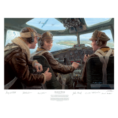 """Almost Home"" Signed Print (unframed)"