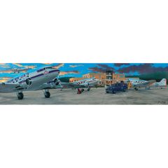 Limited Edition Signed Aircraft Print - Historic 1946 Lunken Airport Signed Print