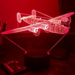 B-24 Liberator 3D Aircraft Color Changing Lamps