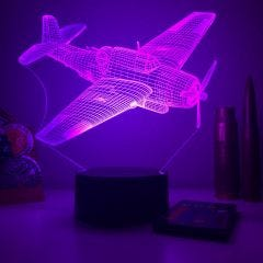 TBF Avenger 3D Aircraft Color Changing Lamps