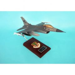 F-16c Fighting Falcon 1/32 (CF016cts) Mahogany Aircraft Model