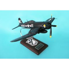F4U-4 CORSAIR USMC BLACK SHEEP SQUADRON 1/26 (AF4U4) Mahogany Model
