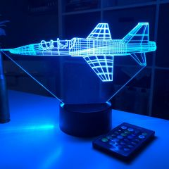 T-38 Talon 3D Aircraft Color Changing Lamps