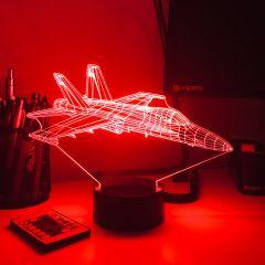 F/A-18 Super Hornet 3D Aircraft Color Changing Lamps