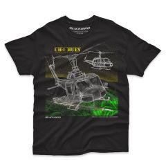 UH-1 HUEY Blackbird T-Shirt