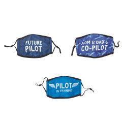 Youth Aviation Masks (Set of 3)