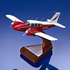Sporty's 1963 Piper Aztec Mahogany Model