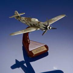 Erich Hartmann Bf-109G-10 Mahogany Model