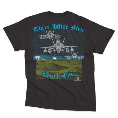 F-18 THREE WISE MEN Blackbird T-Shirt
