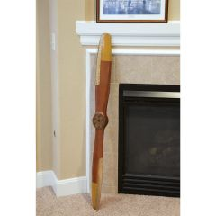 Vintage Wooden Flight Propeller (4')