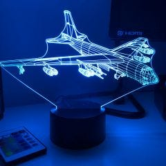 B-52 Stratofortress 3D Aircraft Color Changing Lamps
