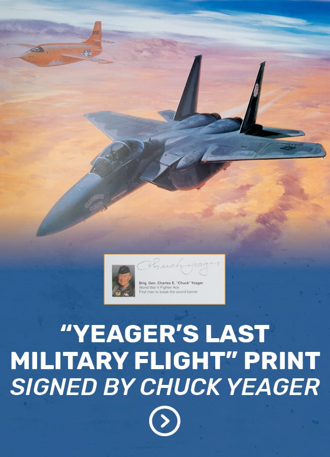 Chuck Yeager Print
