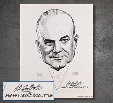 Doolittle Signed Portrait